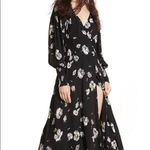 NWT Free People So Sweetly Floral Maxi Dress Sz M